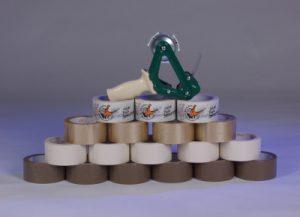 PVC-Klebebänder - Verpackungsmaterial Papierklebebänder